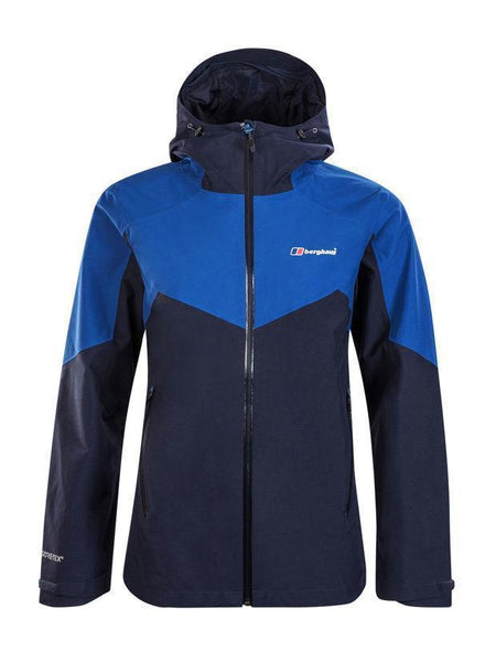 Berghaus Jacket Dark Blue/Blue / 10 Berghaus Women's Ridgemaster Waterproof Jacket