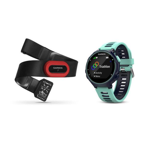 Garmin Forerunner 735XT Midnight Blue Run Bundle - TechSmartWear