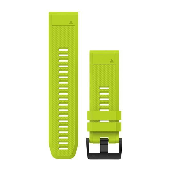 Garmin QuickFit 26 Watch Band - Amp Yellow Silicone - TechSmartWear