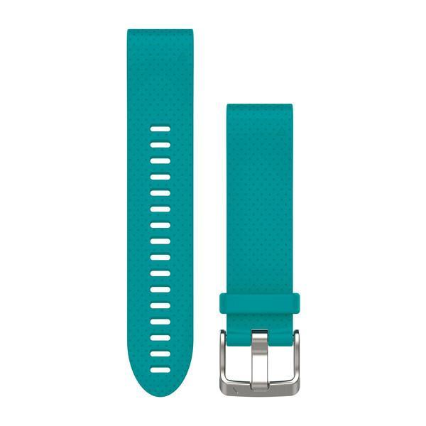 Garmin QuickFit 20 Watch Band - Turquoise Silicone - TechSmartWear