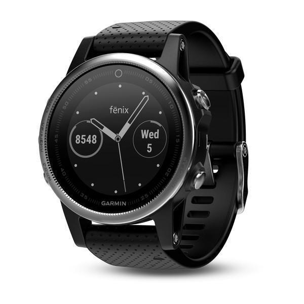 Garmin Fenix 5S Black Band - TechSmartWear