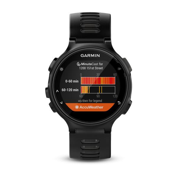GARMIN FORERUNNER 735XT- Black and Grey - TechSmartWear