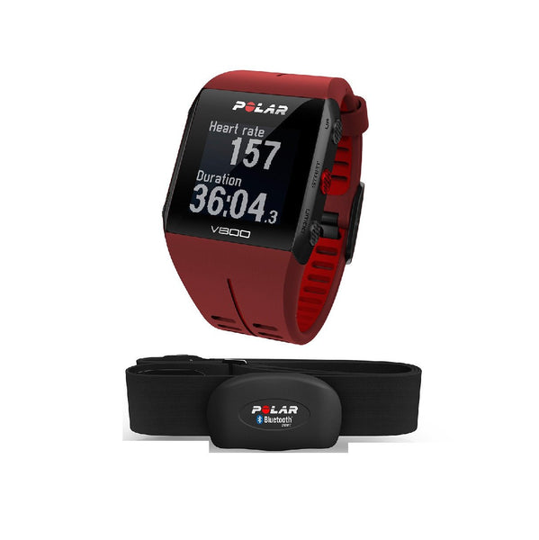 Polar V800 + Heart Rate Sensor - Red - TechSmartWear