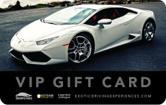 Exotic Experience Gift Card