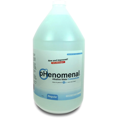 pHenomenal Water Regular Tasteless One Gallon Concentrate - Makes 32 Gallons