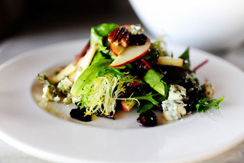 Recipes We Love: Apple, Pecan, and Blue Cheese Salad with Dried Cherries