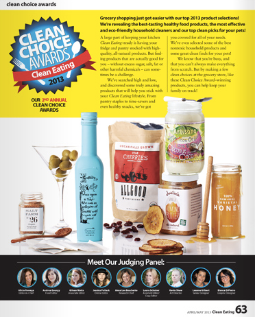 CE Clean Choice Awards
