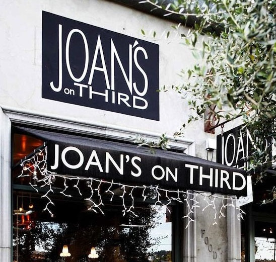 "Joan's on Third: ""We celebrate food, family and friends with imagination, style and grace"""