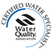 Crystal Quest is a Certified Water Specialist