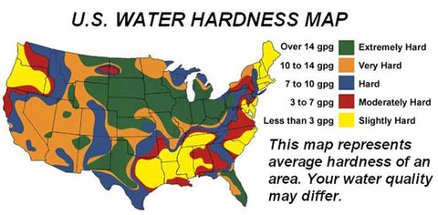 Water Hardness Map