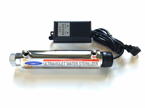1 GPM Ultraviolet Water Sterilizer System - UV System - Crystal Quest Water Filters