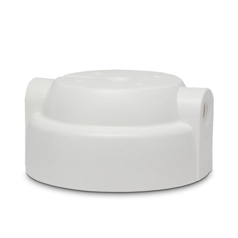 "2.5"" x 10"" White Poly Cap - Parts - Crystal Quest Water Filters"