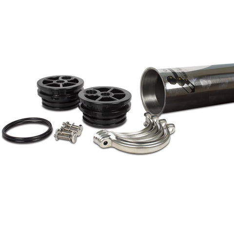"4"" x 40"" RO Membrane Housing with Cap,O-rings and Lock included - Parts - Crystal Quest Water Filters"