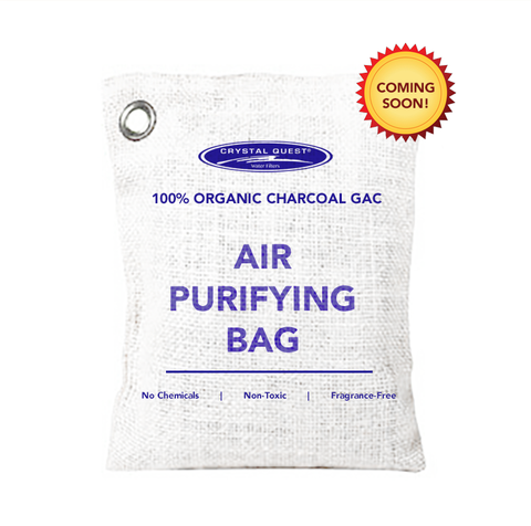Air Purifying Bag - 100% Charcoal GAC -  - Crystal Quest Water Filters