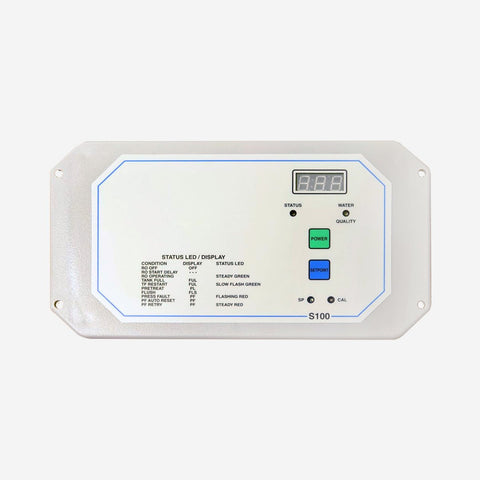 C-100 Reverse Osmosis System Control Panel - Control Panel - Crystal Quest