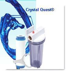 "Commercial 10"" Inline Water Filter - Commercial - Crystal Quest Water Filters"