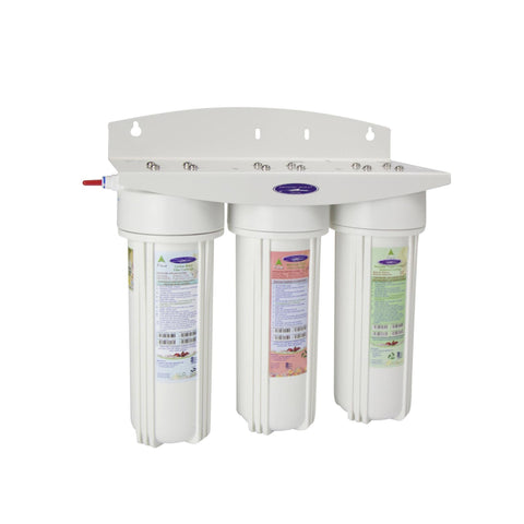 Commercial Triple Inline Water Filter - Commercial - Crystal Quest