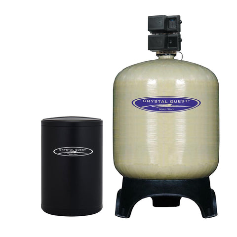 Commercial Water Softener System (1,200,000 Grains) - 40 cu.ft. - Commercial - Crystal Quest Water Filters