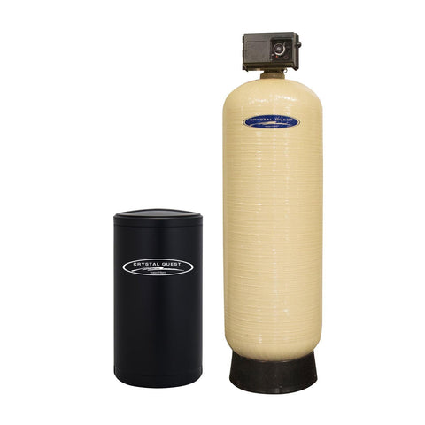 Commercial Water Softener System (210,000 Grains) - Single 7 cu.ft. - Commercial - Crystal Quest Water Filters
