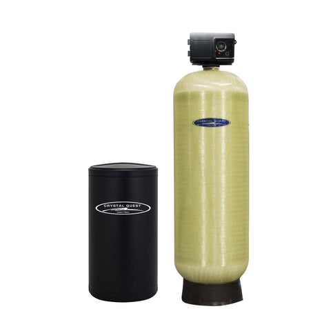 Commercial Water Softener System (300,000 Grains) - Single 10 cu.ft. - Commercial - Crystal Quest Water Filters
