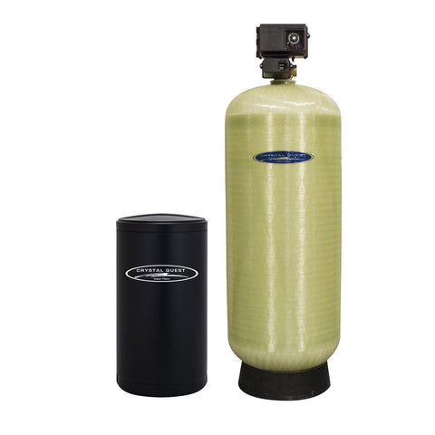 Commercial Water Softener System (450,000 Grains) - Single 15 cu.ft. - Commercial - Crystal Quest Water Filters
