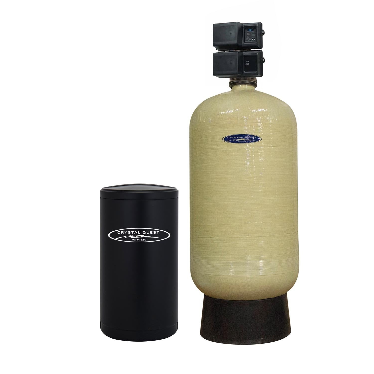 commercial water softener system 600000 grains single 20 cuft - Commercial Water Softener