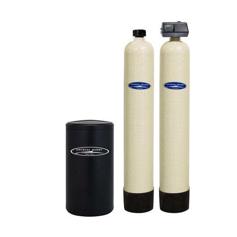 Commercial Water Softener System (90,000 Grains) - Double 1.5 cu.ft. - Commercial - Crystal Quest Water Filters