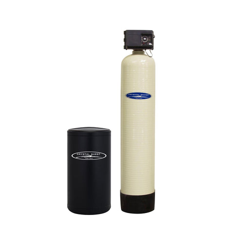 Commercial Water Softener System (90,000 Grains) - Single 3 cu.ft. - Commercial - Crystal Quest Water Filters