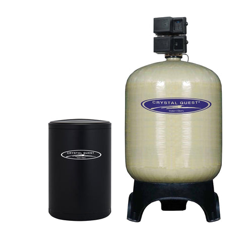 Commercial Water Softener System (900,000 Grains) - Single 30 cu.ft. - Commercial - Crystal Quest Water Filters