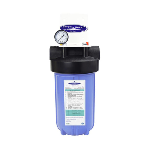 Demineralizer Water Filter | Mid-Flow Ultra High Purity/TDS Reduction (.65 GPM - 2 GPM) - - Crystal Quest Water Filters