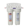 Filters 10000 gallons Multistage PLUS Commercial Double Inline Water Filter - Commercial - Crystal Quest