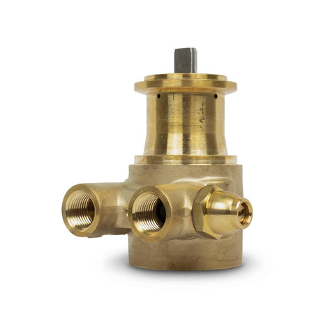 Fluid-O-Tech 3 GPM Brass Rotary Vane Pump - Parts - Crystal Quest Water Filters