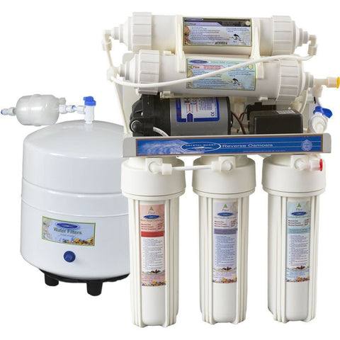 Reverse Osmosis Under Sink Water Filter - 2000CP - Reverse Osmosis System - Crystal Quest