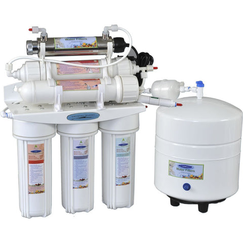 Reverse Osmosis Under Sink Water Filter - 4000C - Reverse Osmosis System - Crystal Quest