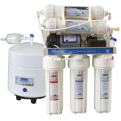 Reverse Osmosis Under Sink Water Filter - 4000CP - Reverse Osmosis System - Crystal Quest