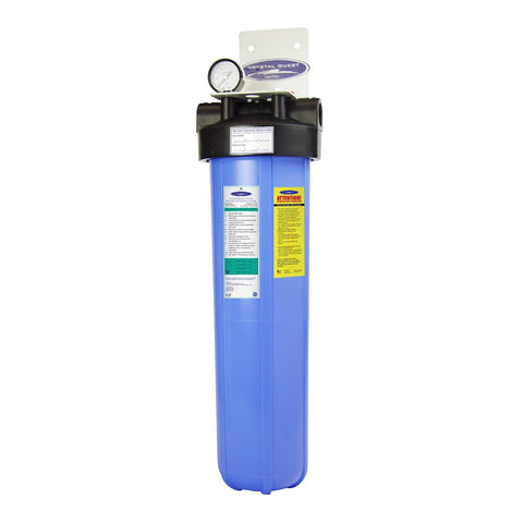 "Single / 1"" Big Blue Whole House Water Filter, Alkalizing (4-6 GPM 