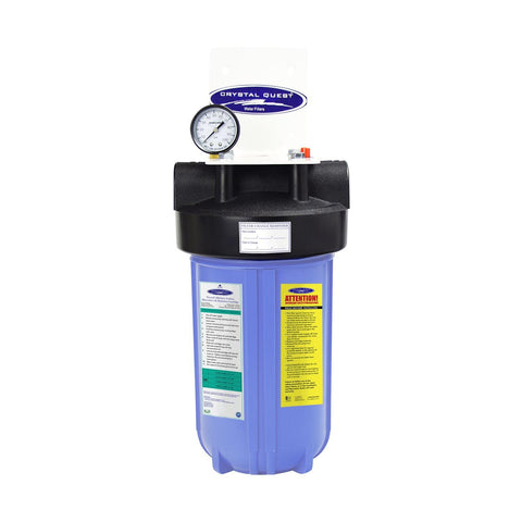 "Single / 1"" Compact Whole House Water Filter, Alkalizing (2-4 GPM 
