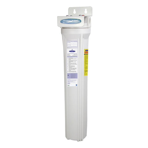"Single / 1"" Slimline Whole House Water Filter 