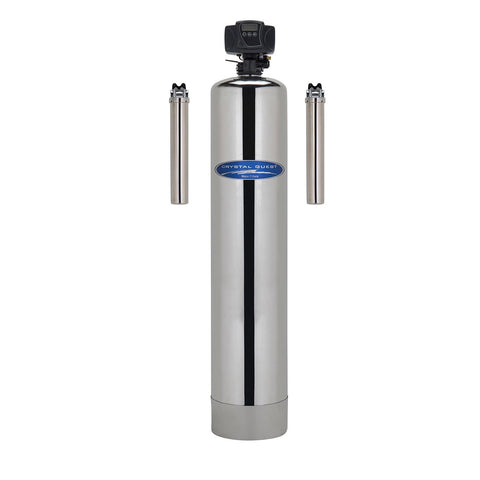 Stainless Steel / 500000 Gallons / Automatic Whole House Inline Water Filter - Whole House Water Filters - Crystal Quest