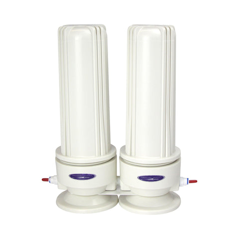 Voyager Double Inline Water Filter System - Inline Water Filters - Crystal Quest