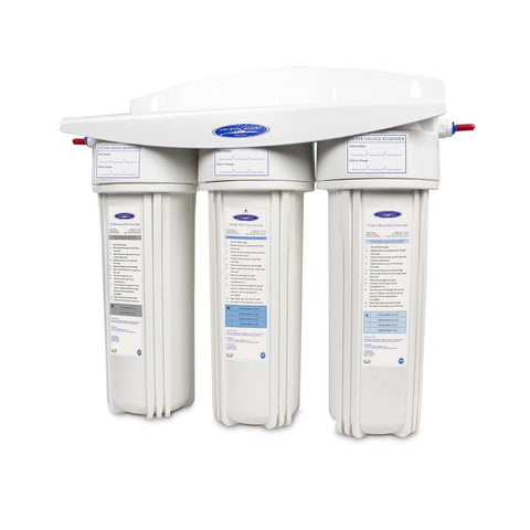 Voyager Triple Inline Water Filter System - Inline Water Filters - Crystal Quest