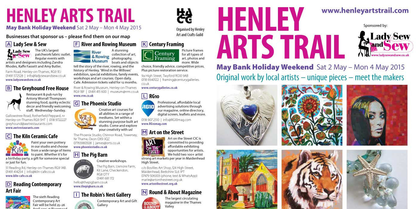 Twyford Studios Venue 19 on Henley Arts Trail 2015