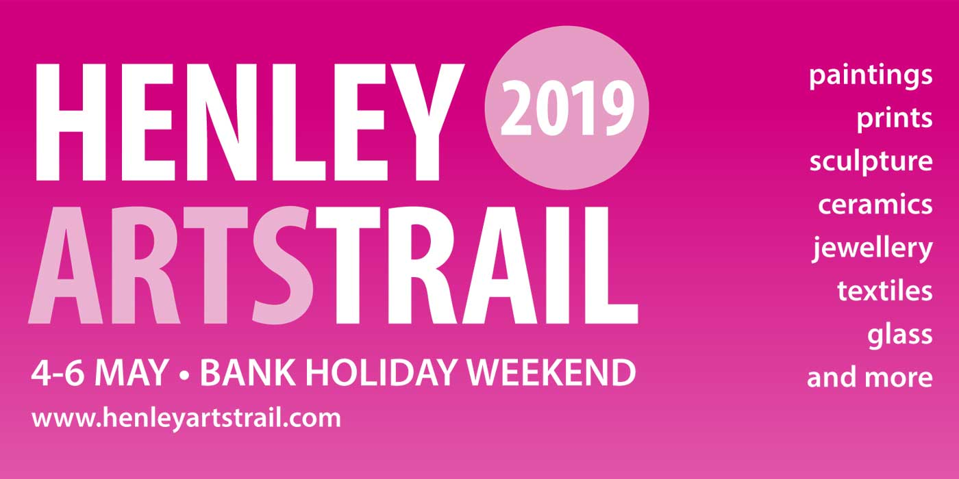 Follow the Henley Arts Trail 2019 map