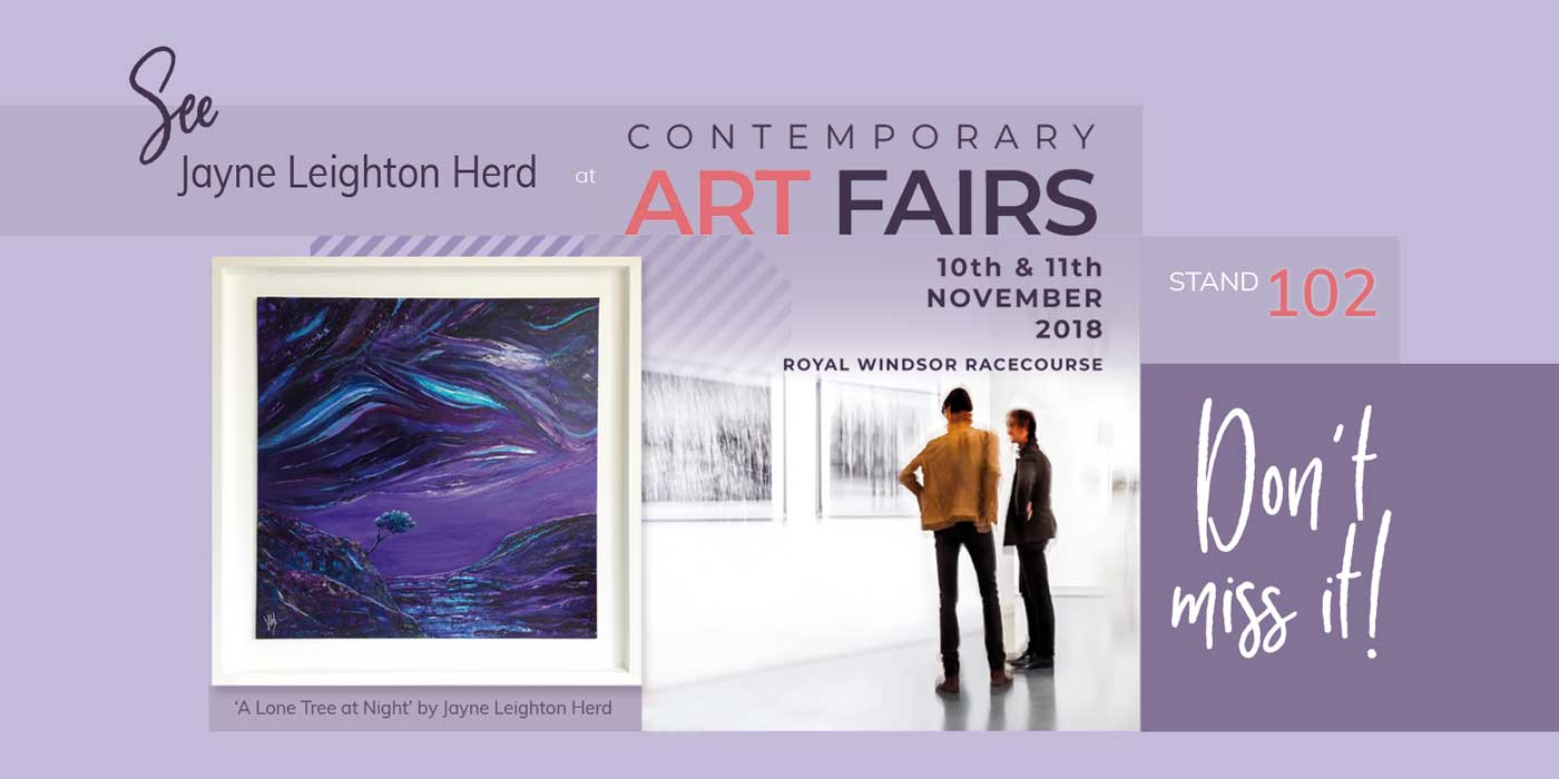 Get a FREE ticket to Contemporary Art Fairs Windsor 2018