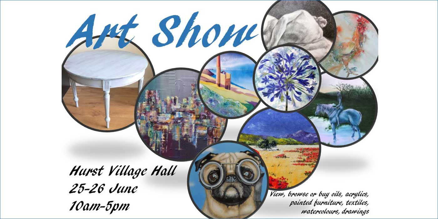 Art Show at Hurst Show & Country Fayre 2016