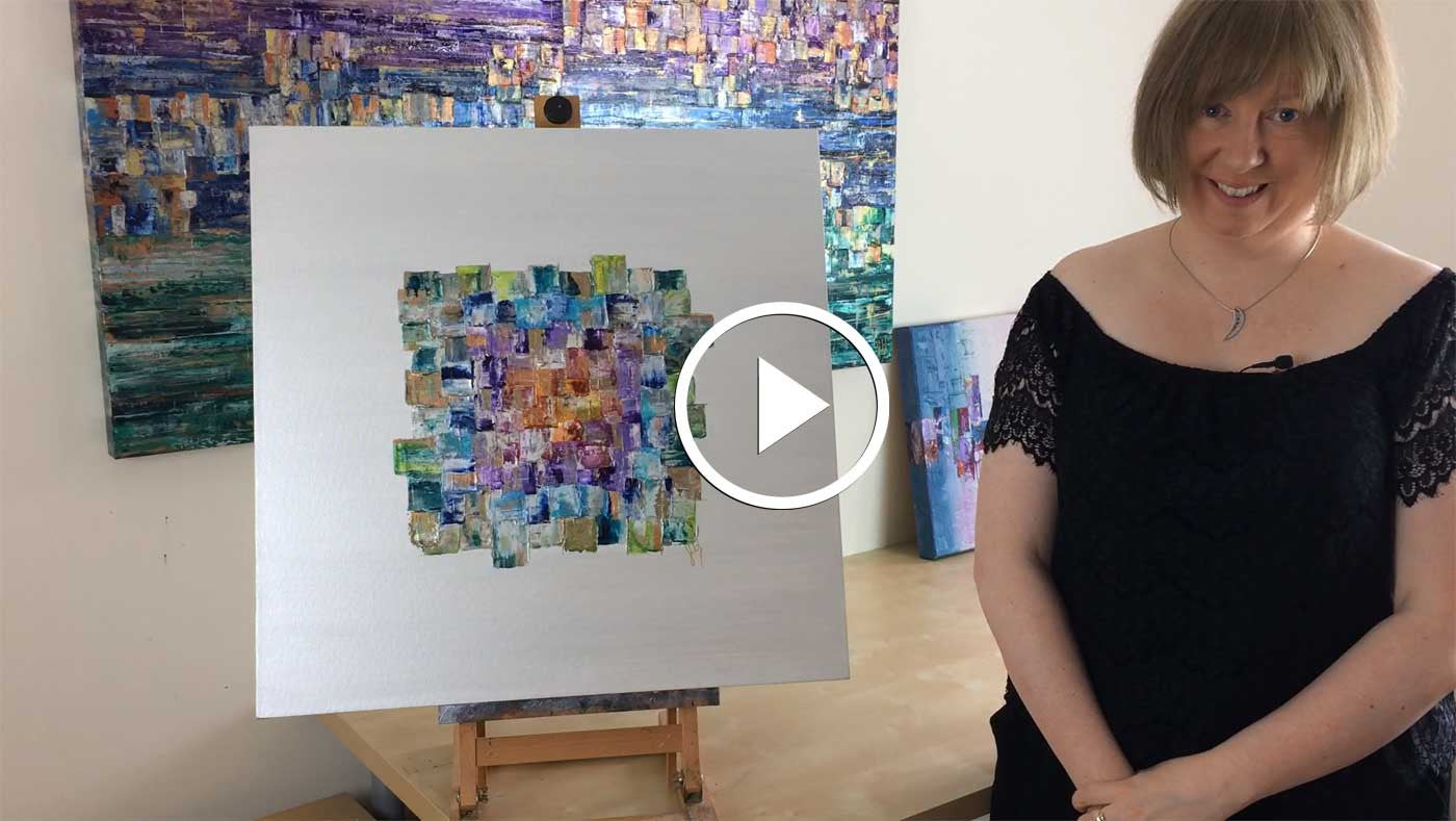Is it hard letting go of paintings that you sell?