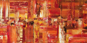 New original abstract painting: Persistence