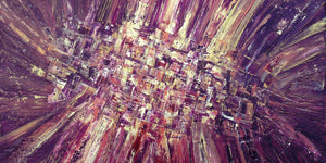 New original abstract painting: Revelation