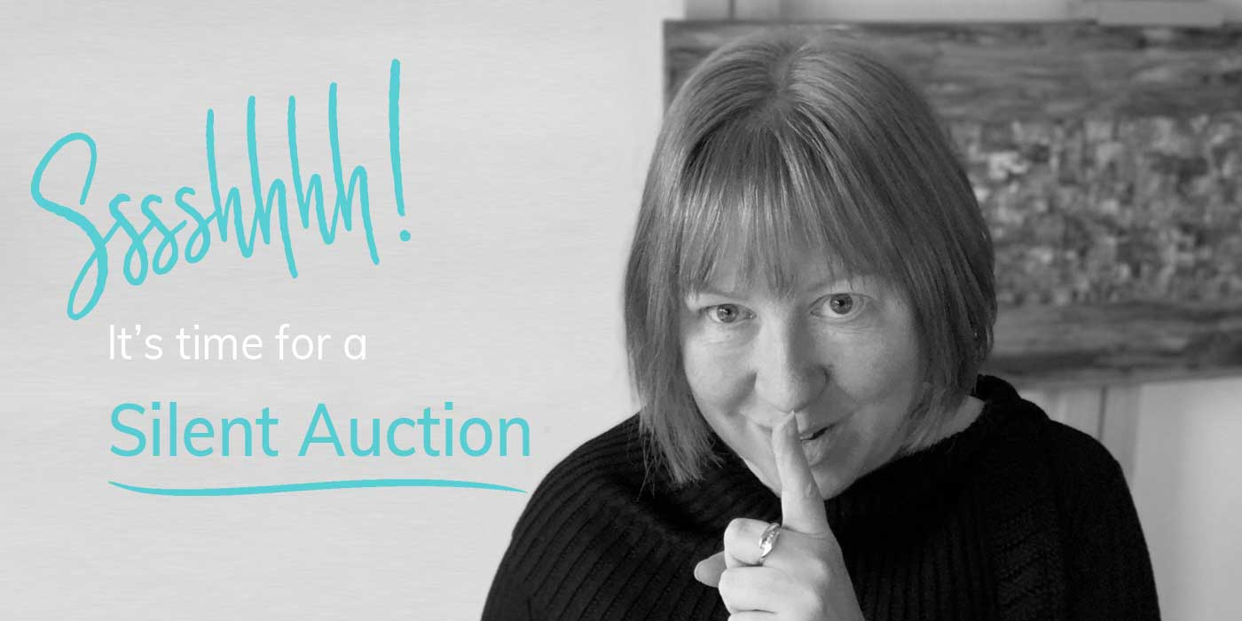 Sssshhhh! It's a silent art auction!