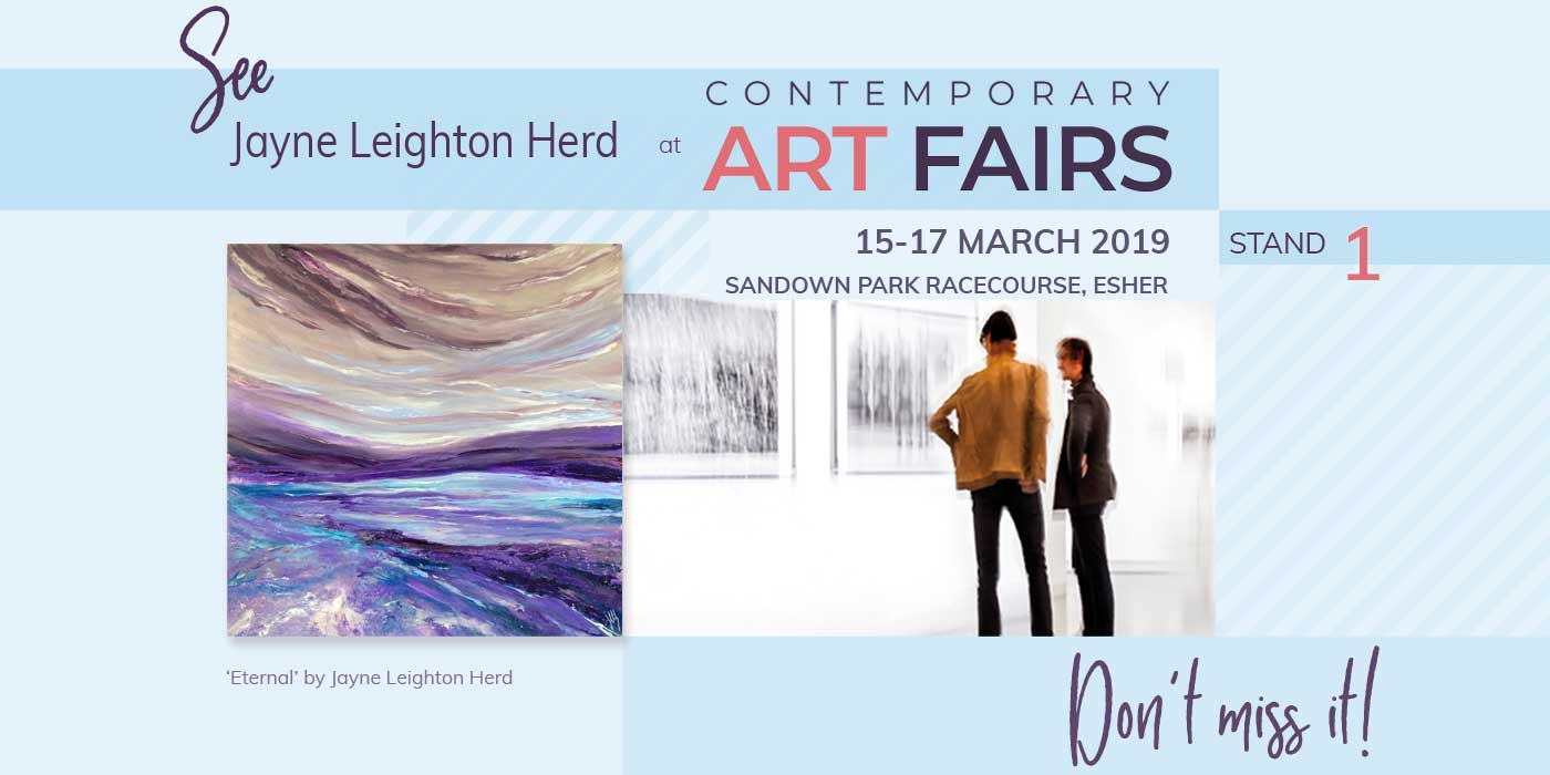 Free ticket for two to Contemporary Art Fairs Surrey 2019